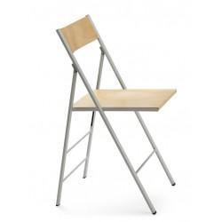 FALGA - Chaise pliante en bois