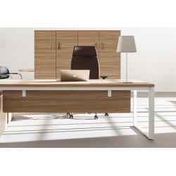 CREMIEU - Bureau rectangulaire avec plateau en bois