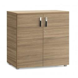 CREMIEU - Armoire comptoir en bois