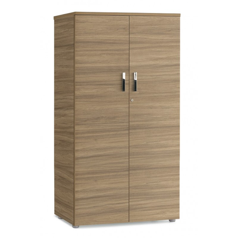 armoire de bureau en bois serrure de s curit 6 niveaux 5 tablettes. Black Bedroom Furniture Sets. Home Design Ideas