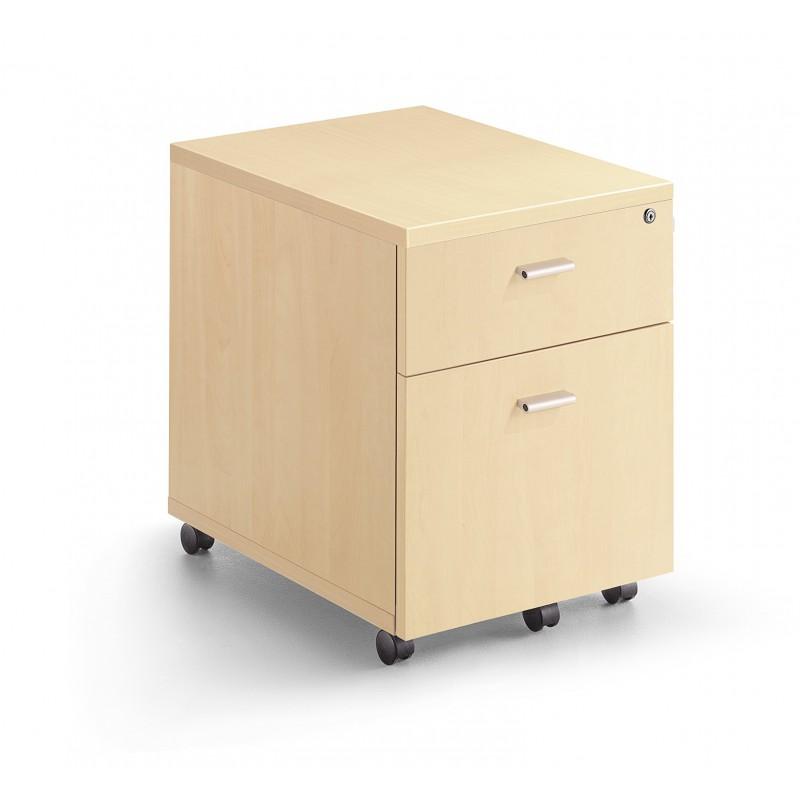 Caisson mobile 2 tiroirs for Comcaisson tiroir dressing