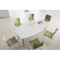 Table de réunion tonneau