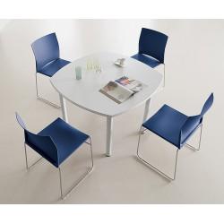 Table carrée de réunion