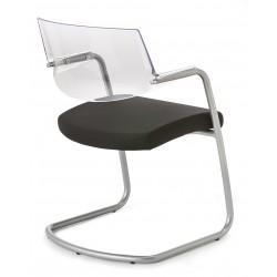 CIEL - Chaise luge design noire