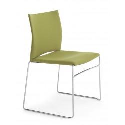 CIEL - Chaise en tissu design