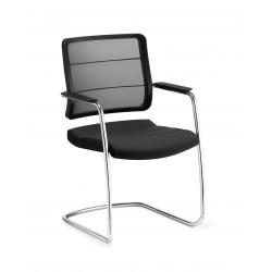 AIRPAD- Chaise luge noire, grise, bleue ou rouge