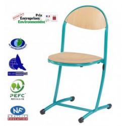 NERON - LOT DE 4 - Chaises de classe