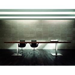 MESLAN - Grande table de réunion en bois