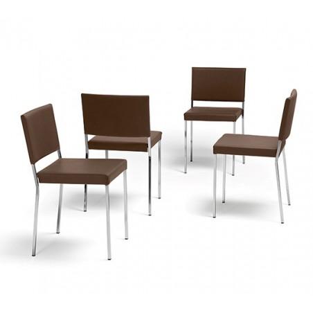 MEDAN - Chaise en tissu