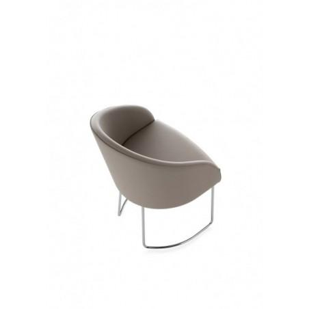 KARFOT - Chaise luge cuir