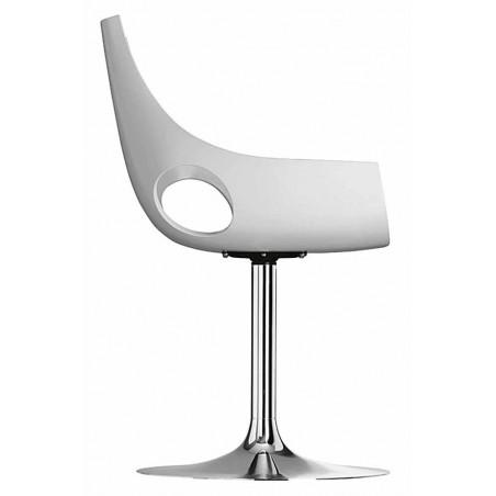 MEUCON - Chaise pied colonne