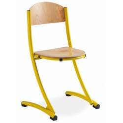 FARBUS - Chaise scolaire empilable