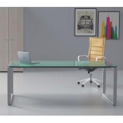 OCTON - Bureau de direction en verre design