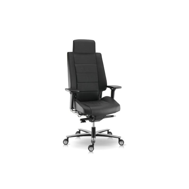 fauteuil de bureau usage intensif cuir noir t 234 ti 232 re r 233 glable