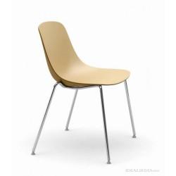 CABRIS - Chaise bicolore