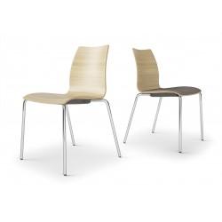 CASTEL - Chaise de bureau en bois