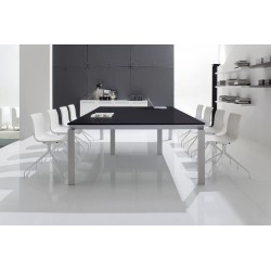 table salle de r union design metz 240x120cm h tre gris noisetier. Black Bedroom Furniture Sets. Home Design Ideas