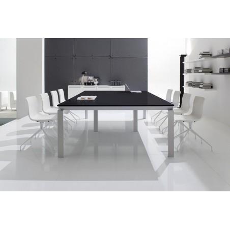 MUTIGNY - Table de réunion en verre