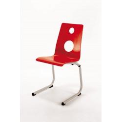 LACENAS - Chaise en bois polyvalente