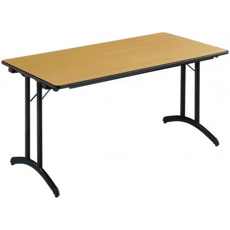 LAMBRES - Table pliante 160 X 80 cm