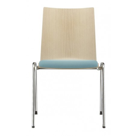 BRAY - Chaise coque bois