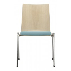 BREST - Chaise coque bois