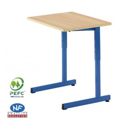 NOE - LOT DE 2 - Table scolaire réglable