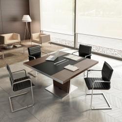 QUENZA - Table de réunion bois