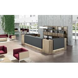 QUEIGE - Banque d'accueil en bois