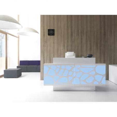 MIERA - Banque d'accueil LED