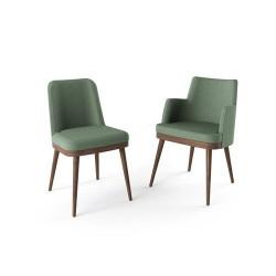 GUAGNO - Chaise piétement bois