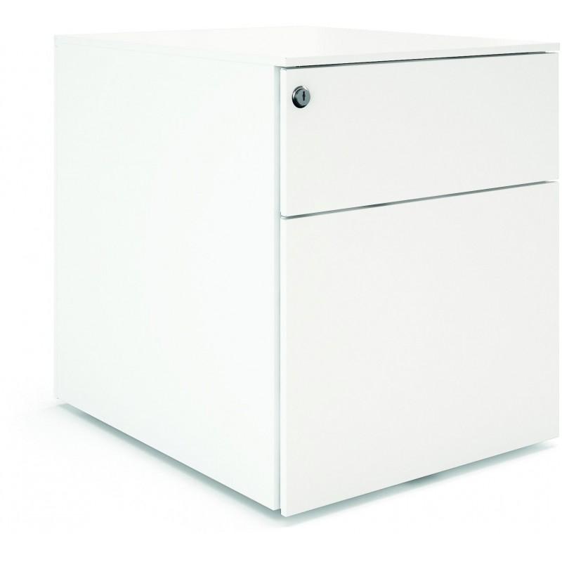 Caisson mobile 2 tiroirs dont 1 pour dossiers suspendus
