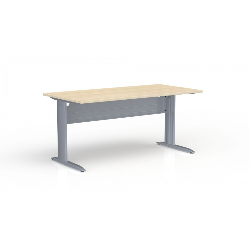 Table de bureau rectangulaire IDEAL P. 80 x L 160 cm