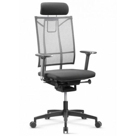 PRADES - Fauteuil de bureau ergonomique avec soutien lombaire