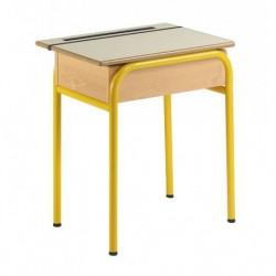 SABLON Table scolaire avec rangement
