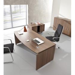 CADILLAC - Bureau de direction en bois 180x80 à 90 cm