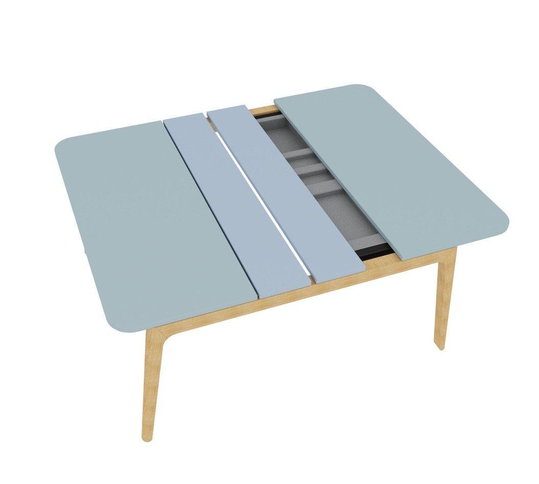 Table Coulissante Sous Plan De Travail bureau bench, plateau coulissant, 160 x 160 cm, piétement