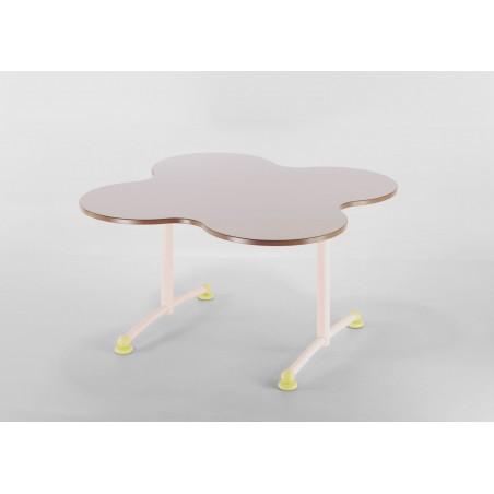 LAFLEUR Table en forme de Fleur L.1200 X P.1200 mm
