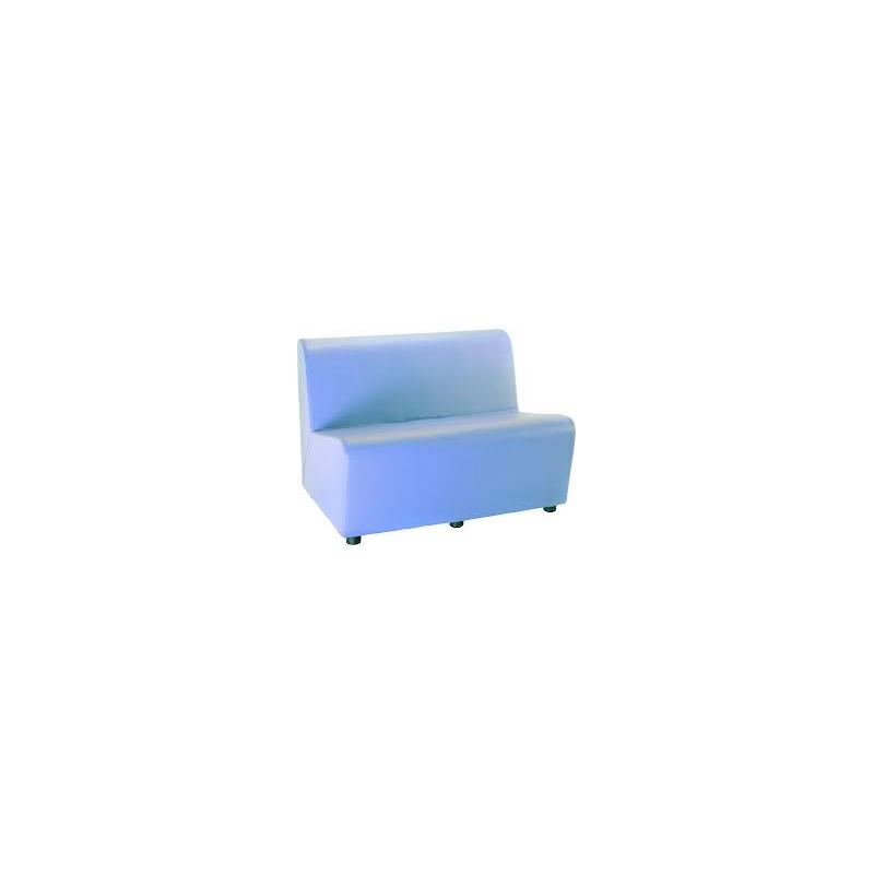 LACROIX Chauffeuse deux places avec tissu enduit.
