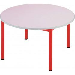 LACANAU Table ronde insonorisée diamètre 120 cm