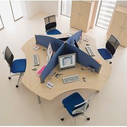 CULT - Bureau compact 4 personnes
