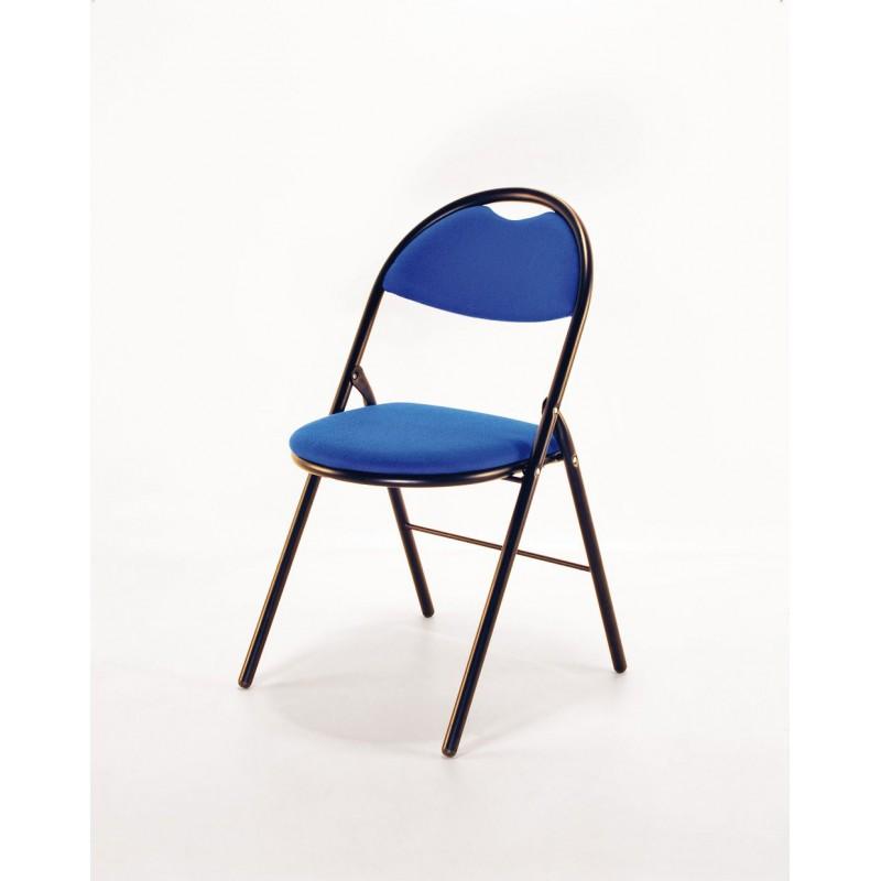 finition noir bleu ou epoxytissu pliantepiétement chaise ygbf76