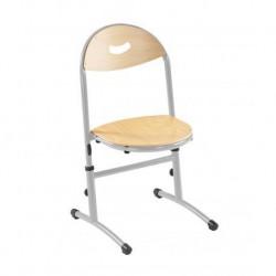 SAND Lot de 10 Chaises réglable appui sur table avec prise de main