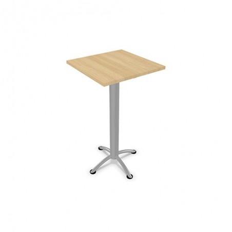 Table Haute de  carré de restauration L.60 X P.60 cm