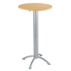 Table Haute ronde  de restauration diamètre 60 cm