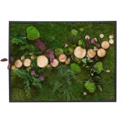Tableau en végétal stabilisé