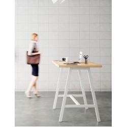 BEZAC - Table haute de réunion style industriel L.180 X P.90