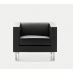 FEY - Fauteuil cuir 1 place